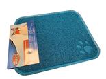 Kattenbak Uitloopmat blauw 45x37cm