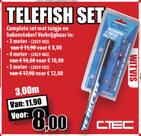 C-tec Starter set telefish 5 meter