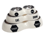 51DN Dinnerbowl Double White S