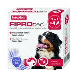 Beaphar FiproTec Spot-On 40-60kg 3 + 1 pipet gratis
