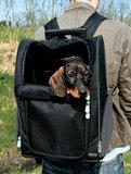 Hondenrugzak en trolley