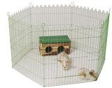 konijnenren 6-delig groen