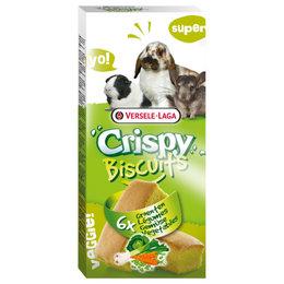 Crispy Biscuits Knaagdieren Groenten 6 stuks