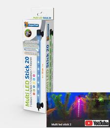 SuperFish Multi Led Stick 20cm