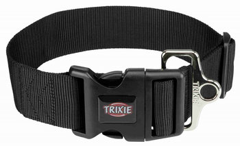 Nylon Halsband Zwart Extra Breed