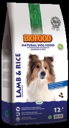 Biofood hondenvoer lam en rijst 12,5kg