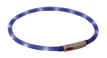 USB Led Verlichtingshalsband Blauw