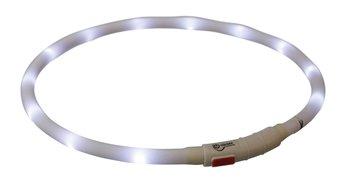 USB Led Verlichtingshalsband Wit