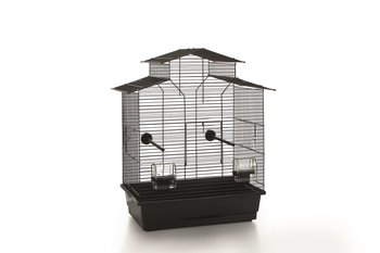 Vogelkooi Iza 2 Pagode Zwart