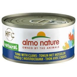 Almo Nature HFC Natural Tonijn Mossel 70gram