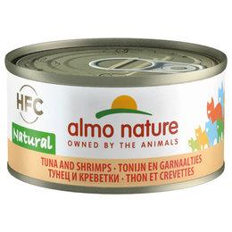 Almo Nature HFC Natural Tonijn en Garnalen 70gram