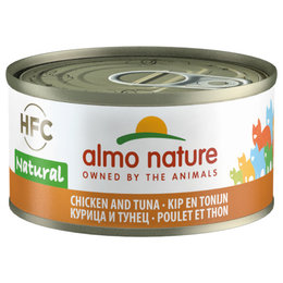 Almo Nature HFC Natural Kip en Tonijn 70gram