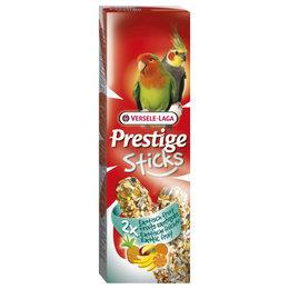 Versele Laga Groot Parkiet Prestige Sticks Excotic Fruit 2 in 1