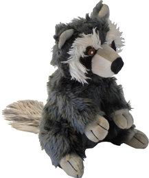 Hondenspeelgoed Pluche Wasbeer 23 cm