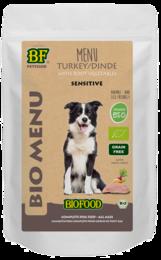 Biofood Organic Kalkoen Menu Pouch 150 gram