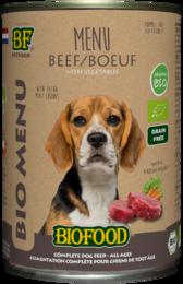 Biofood Organic Rund Menu Blik 400 gram