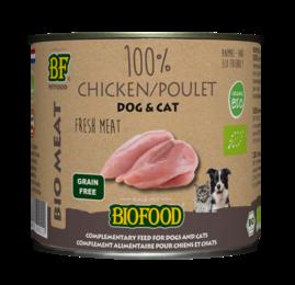 Biofood Organic 100% kippenvlees 200 gram