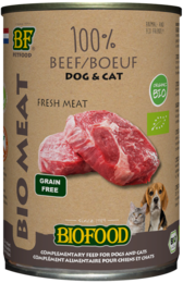 Biofood Organic 100% rundvlees 400 gram
