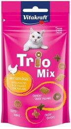 Vitakraft trio mix gevogelte kattensnoepjes 60 gram