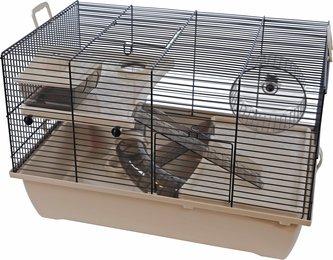 Hamsterkooi Pinky 2 mokka