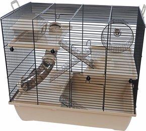 Hamsterkooi Pinky 3 mokka