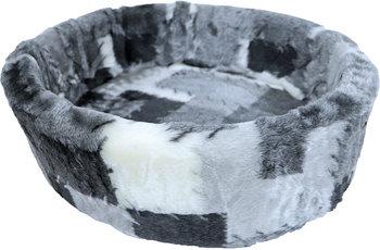 Boony Bontmand blokjes grijs 60cm