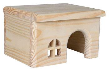 Hamsterhuis plat dak 15 cm spijkervrij