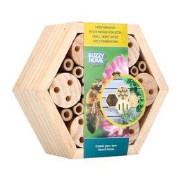 Buzzy home hexagon bijen