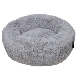 District 70 Fuzz Hondenmand light grey 100cm