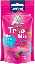 Vitakraft trio mix vis kattensnoepjes 60 gram