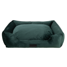 District 70 Veluro hondenmand forest green 90 cm