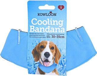 Koelband hond lichtblauw