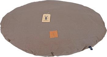 Boony ovale bruine hondenkussen 90 cm