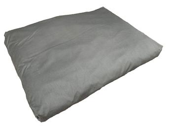 Lobbes hondenkussen grijs 100x70 cm