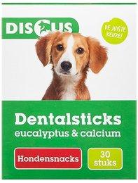 Discus Dentalsticks Eucalyptus en Calcium