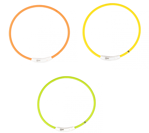 Lichtgevende Halsband USB 45cm