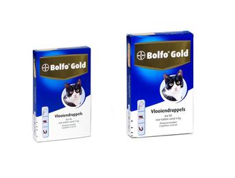 Bolfo Gold Kat 80 Vlooiendruppels