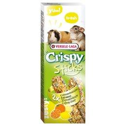 Chinchilla Cavia Crispy Sticks Citrus Vruchten 2 Stuks