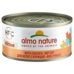 Almo Nature HFC Kitten Kip 70gram