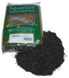 Aquarium Grind Zwart 1-2mm 2½kg