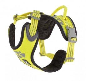 Hurtta Weekend Warrior Neon Lemon Hondentuig 45-60cm