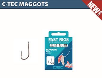 C-Tec onderlijn Maggot 45cm