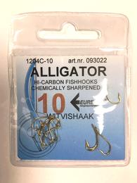 Alligator Vishaak met oog