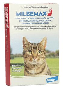 Milbemax Ontwormingtablet Kat 2 tabletten