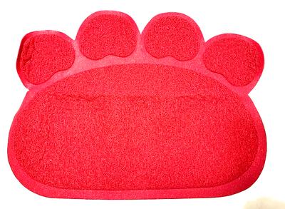 Kattenbak Uitloopmat Roze 60x45cm