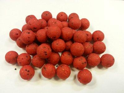 Boilie aardbei 500 gram