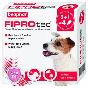Beaphar FiproTec Spot-On 2-10kg 3+1 gratis