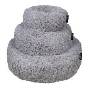District 70 Fuzz Hondenmand light grey 80cm