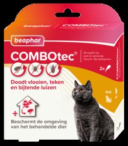 Beaphar combotec vlooiendruppels kat fret