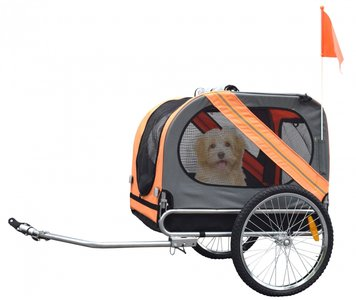 Pet trailer honden fietskar